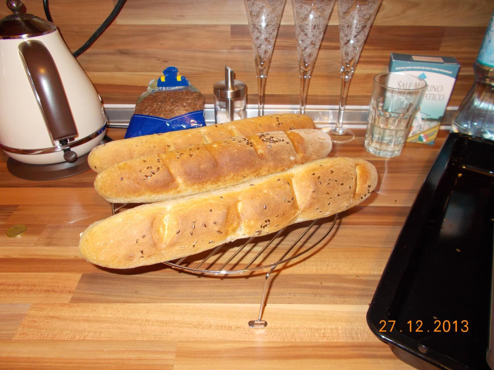 Pečení,vaření,grilování.....je libo něco dobrého do bříška ................ - Chlebové bagetky