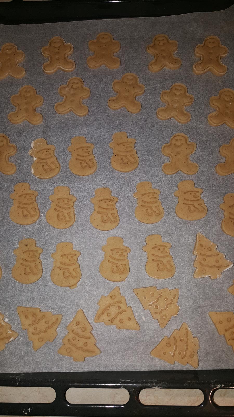 Střípky z domova - Perníkové sušenky