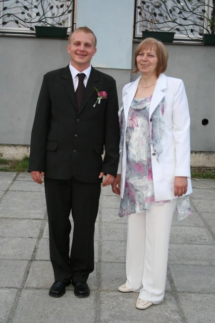 Katinka Chrastinová{{_AND_}}Andrejinko Ivan - ženích s novou maminkou