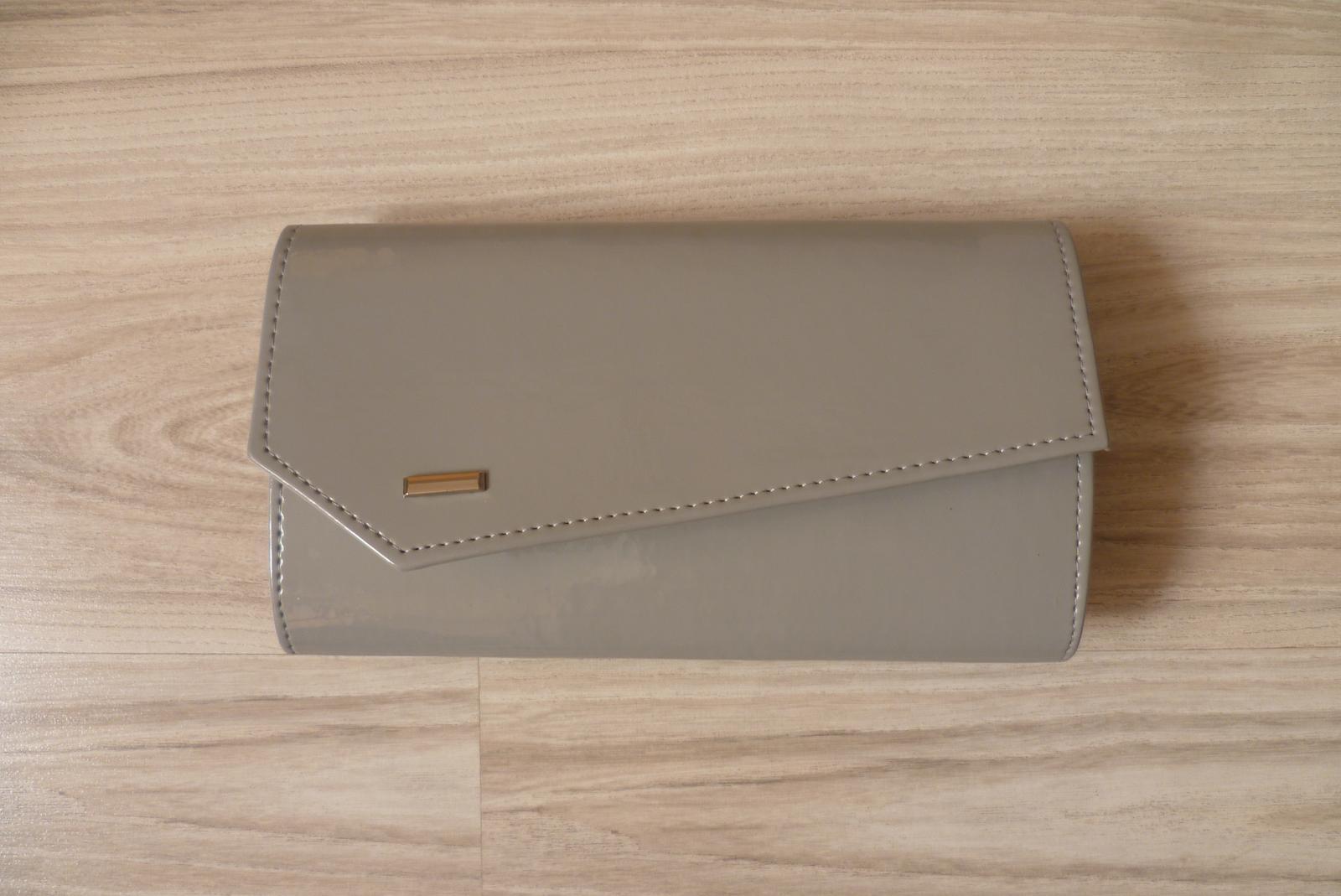Spoločenská kabelka - sivá - Obrázok č. 1