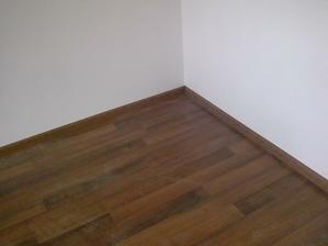 podlaha v  budúcej spálni