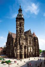 v tejto nádhernej katedrále-Dóm sv. Alžbety- plnej histórie sme uzavreli manželstvo :-)
