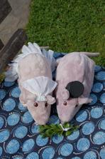 svatební myšáci - buxus