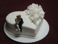 V jednoduchosti je krása...žádný patrový dort nebude.