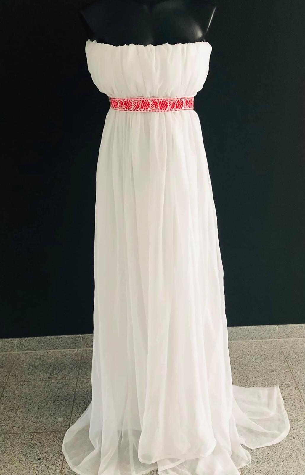 Svadobné / spoločenské šaty - Obrázok č. 1