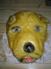 toto je tortička z cukrárne, kde nám budú robiť svadobnú tortu