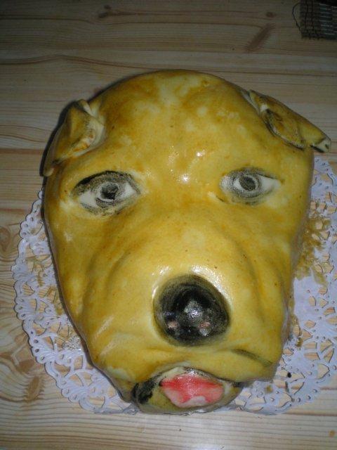 Monika a Marek - toto je tortička z cukrárne, kde nám budú robiť svadobnú tortu