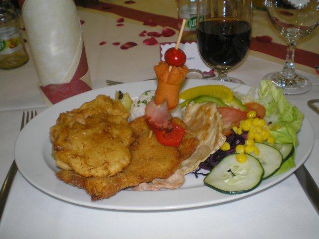 Monika a Marek - hlavné jedlo