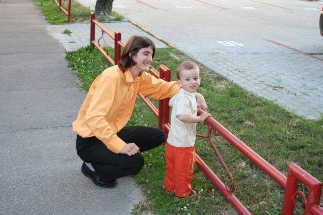 Monika{{_AND_}}Marek - najmladší účastník :-)