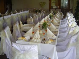 Naše svatební tabule...