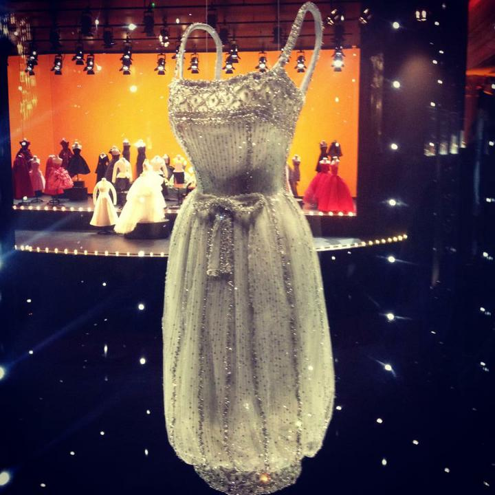 PO svadobny album :) - Dior, Audrey Hepburn's dress