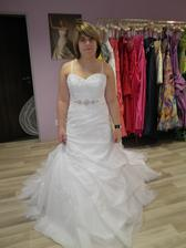 Moje svatební šaty v realitě