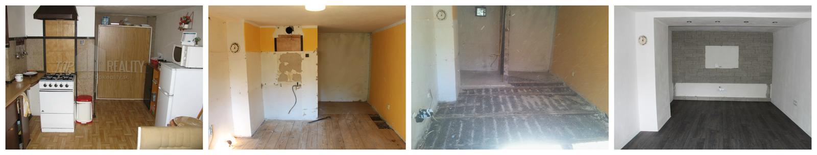 Naša rekonštrukcia - progres :)