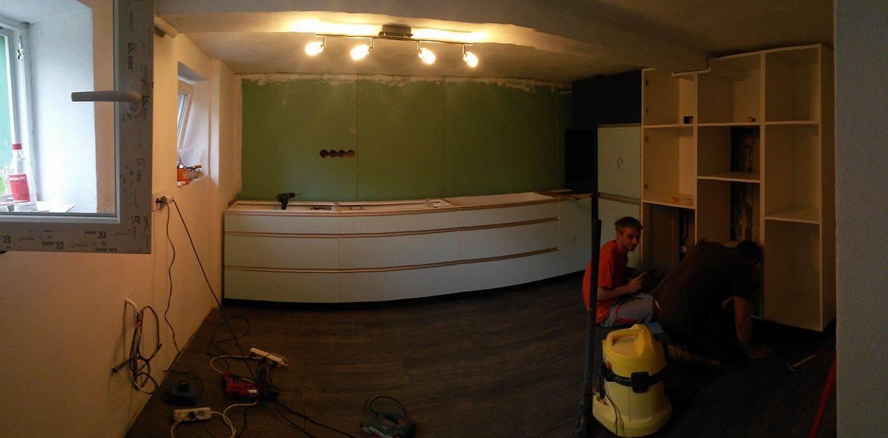 Naša rekonštrukcia - začíname montovať :)