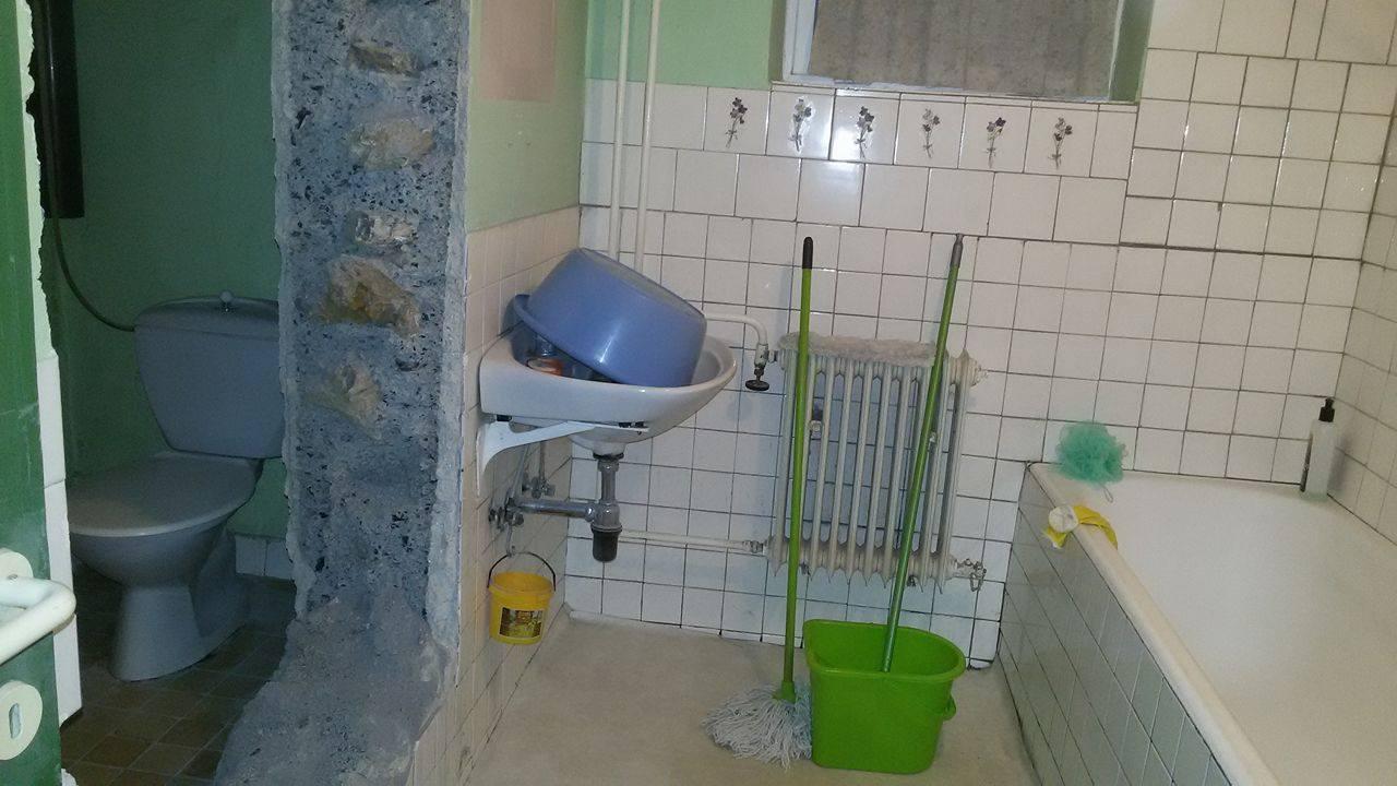 Naša rekonštrukcia - a spravený zvnútra kúpelne