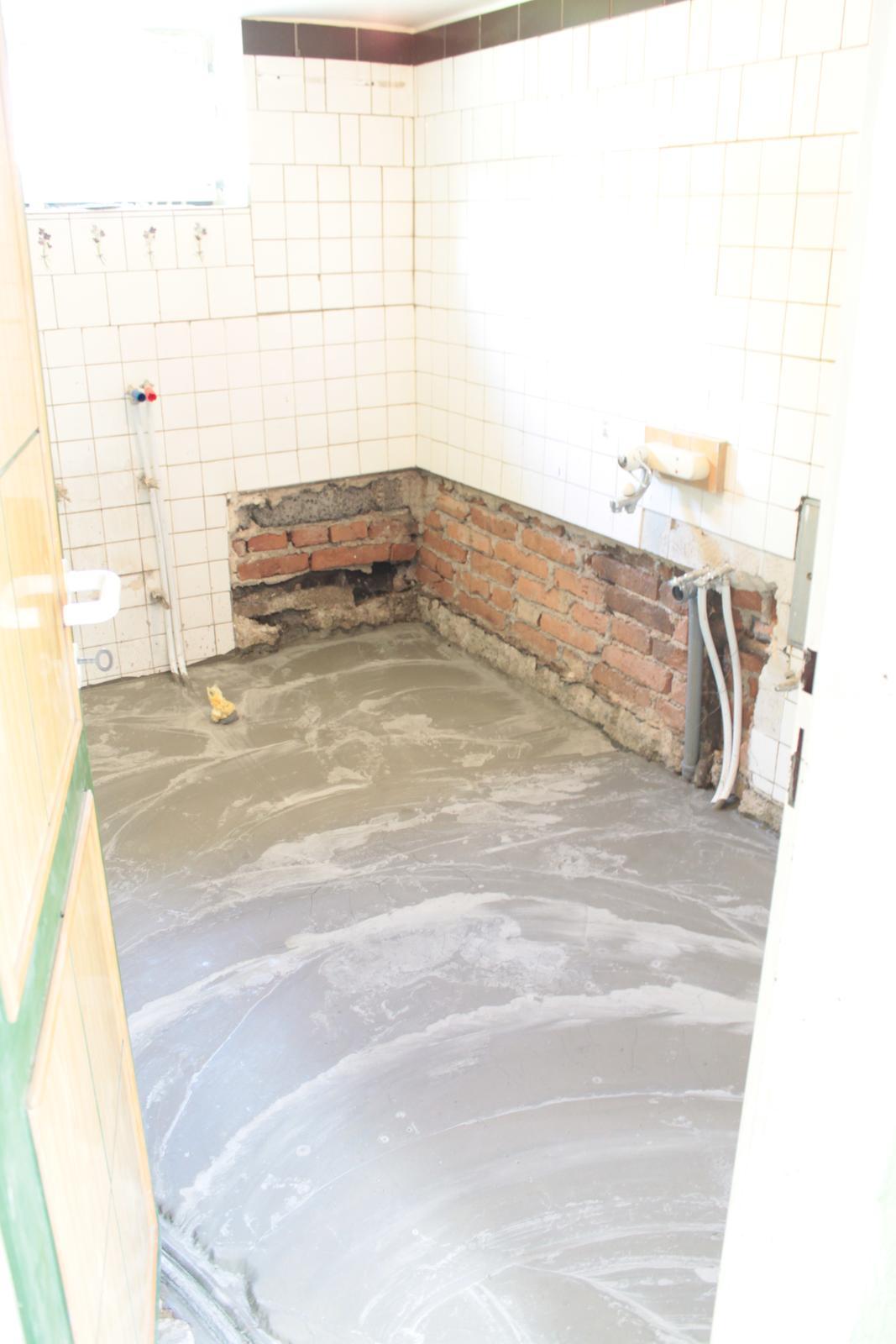 Naša rekonštrukcia - vyliata podlaha