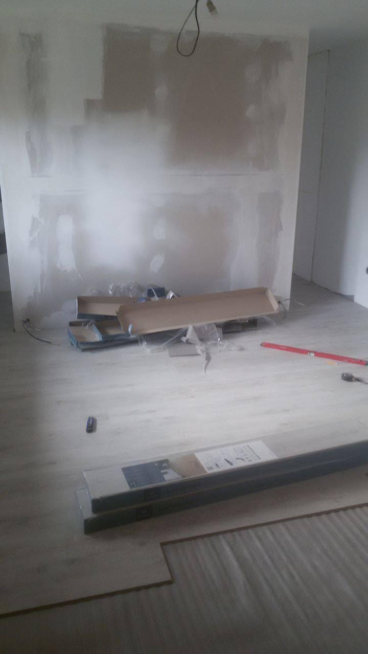 Naša rekonštrukcia - podlaha