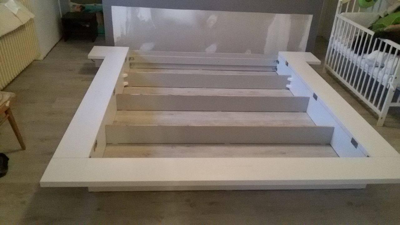 Naša rekonštrukcia - posteľ