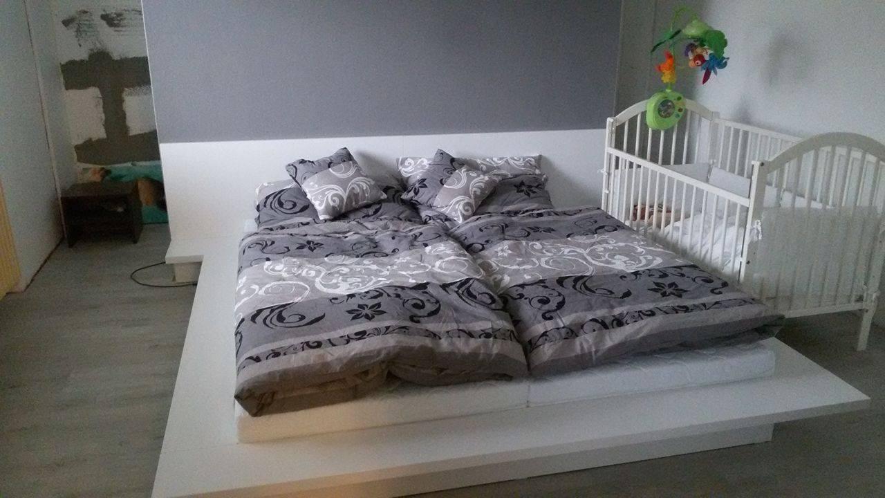 Naša rekonštrukcia - do spálne prídu ešte tyrkysové doplnky :)