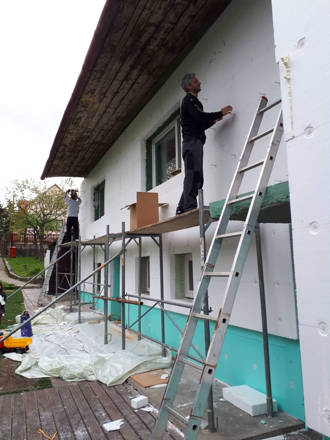 Naša rekonštrukcia - na jar 2019 sme zateplili domček