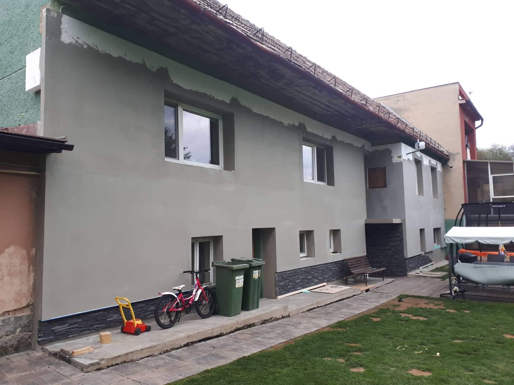 Naša rekonštrukcia - ... hotovo, čaká nás strecha a fasáda :)