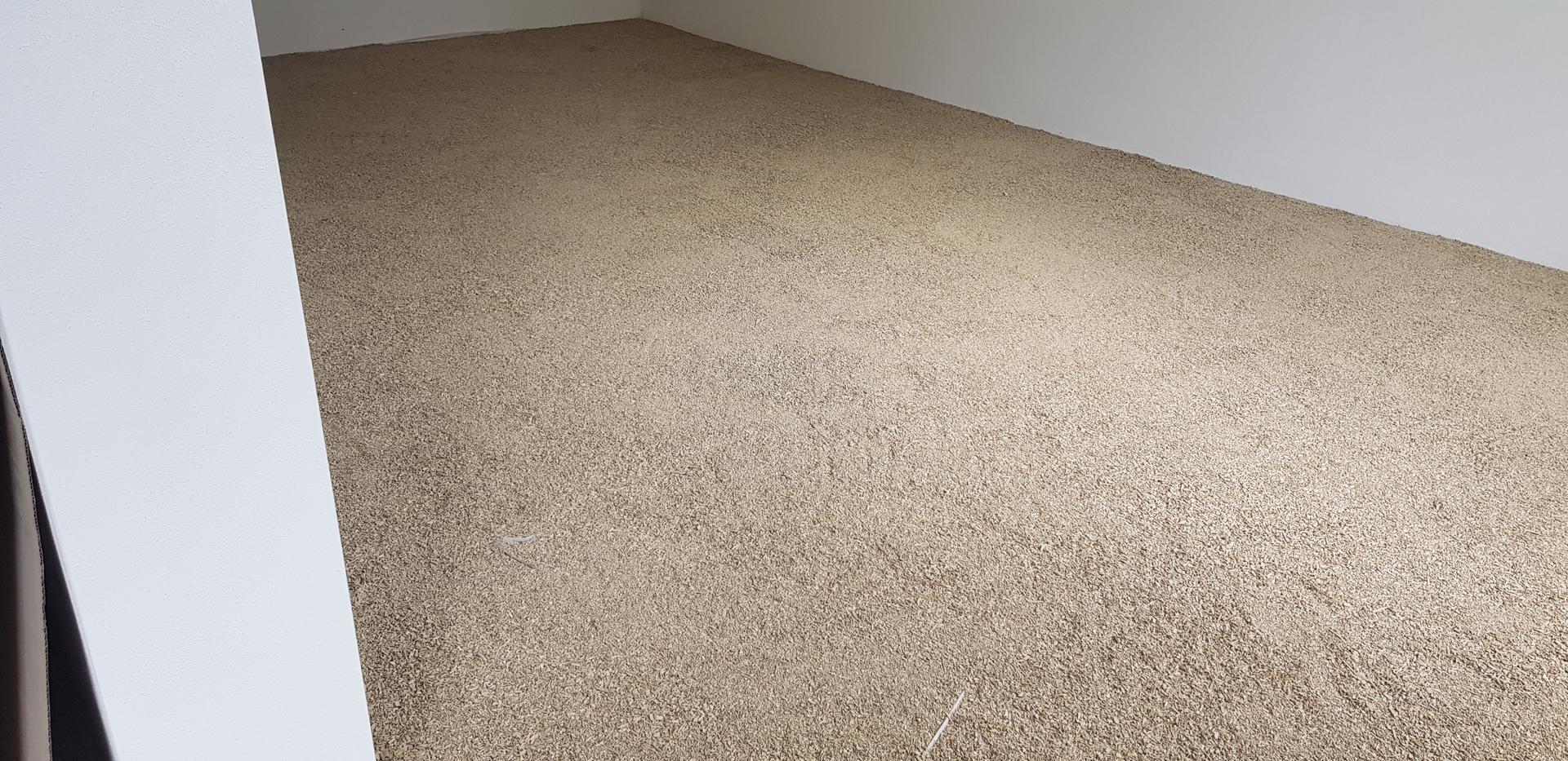 Naša rekonštrukcia - ... zarovnaná podlaha
