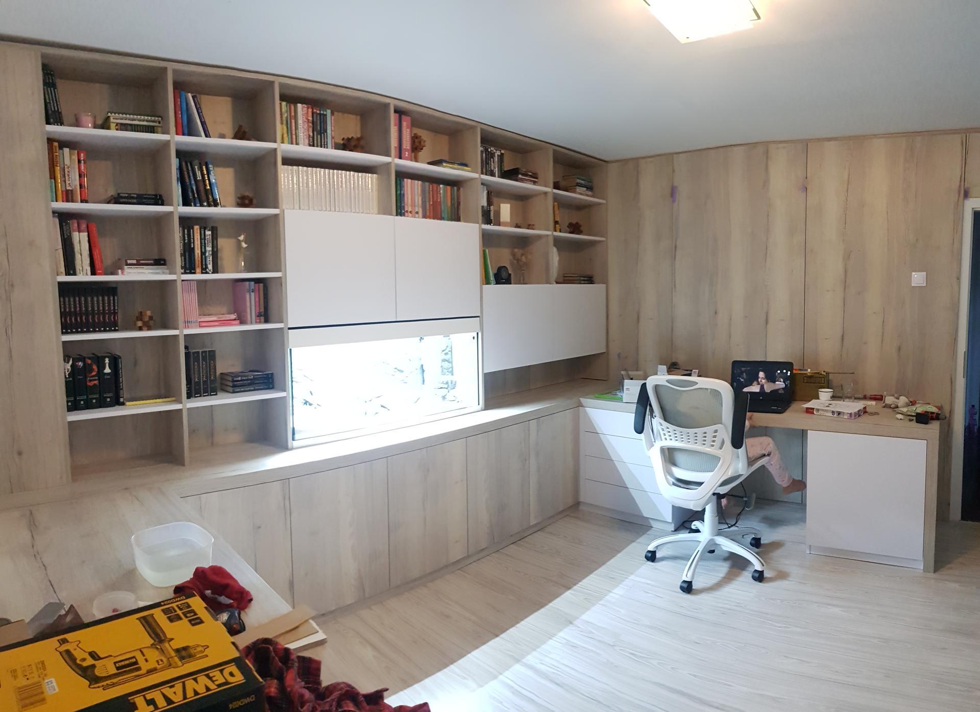 Naša rekonštrukcia - ... ostáva nám len doplniť dekorácie na celkové zútulnenie miestnosti