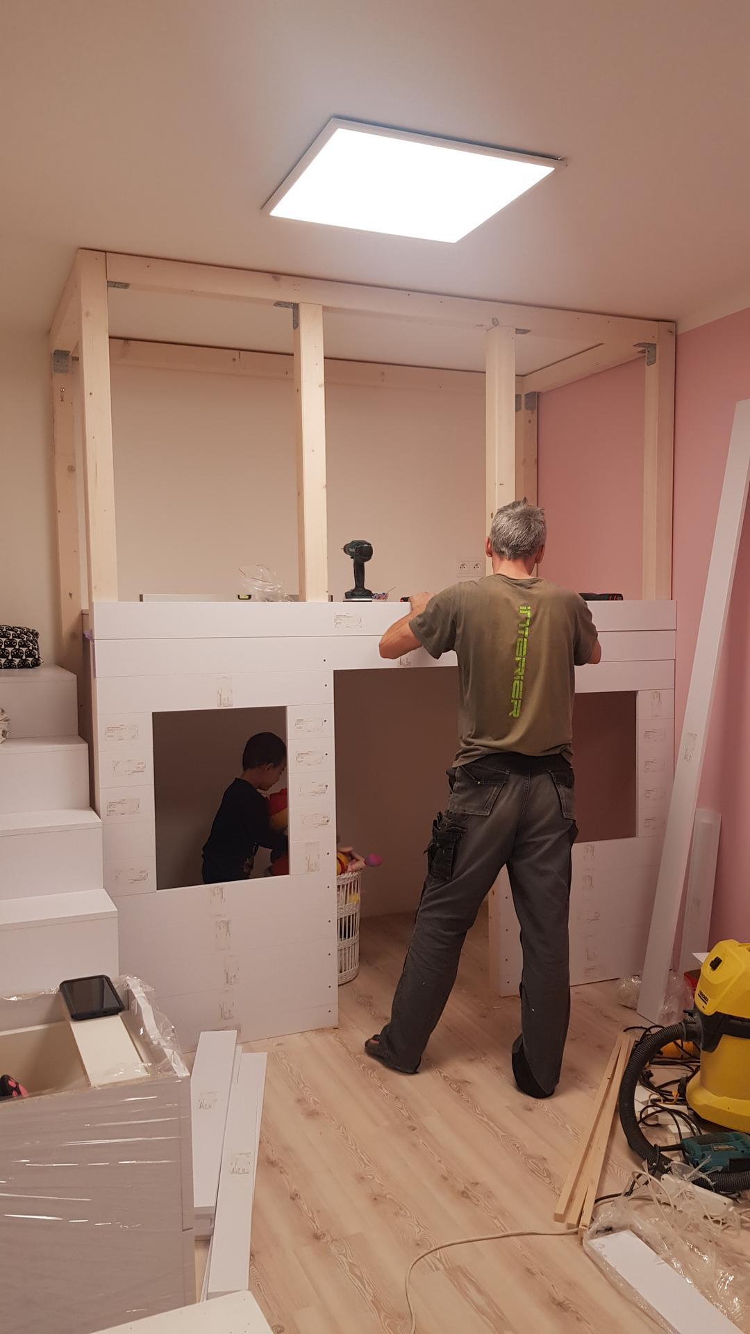 Naša rekonštrukcia - domček sa rysuje