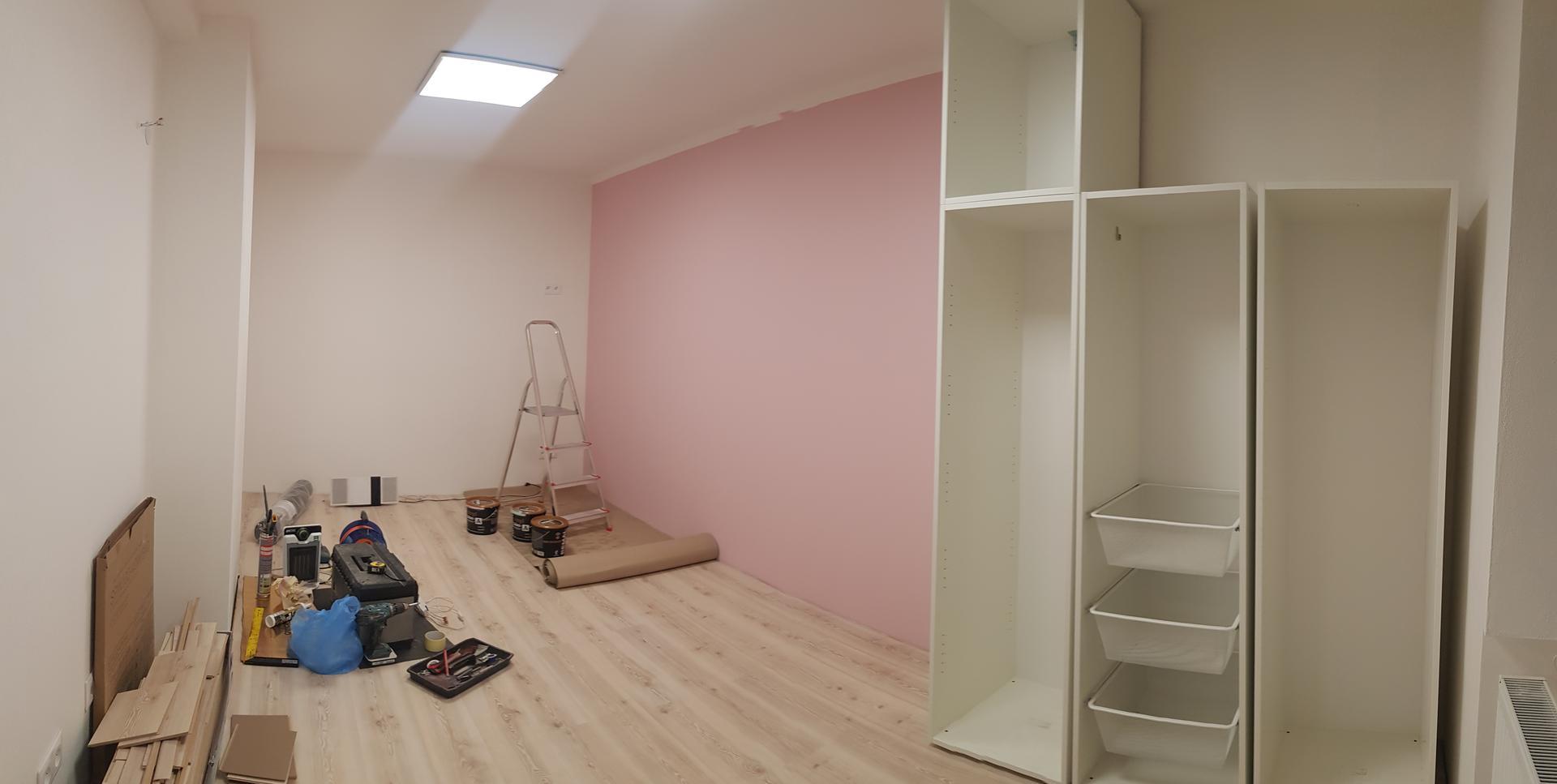 Naša rekonštrukcia - pomaličky skladáme aj nábytok v detských izbičkách
