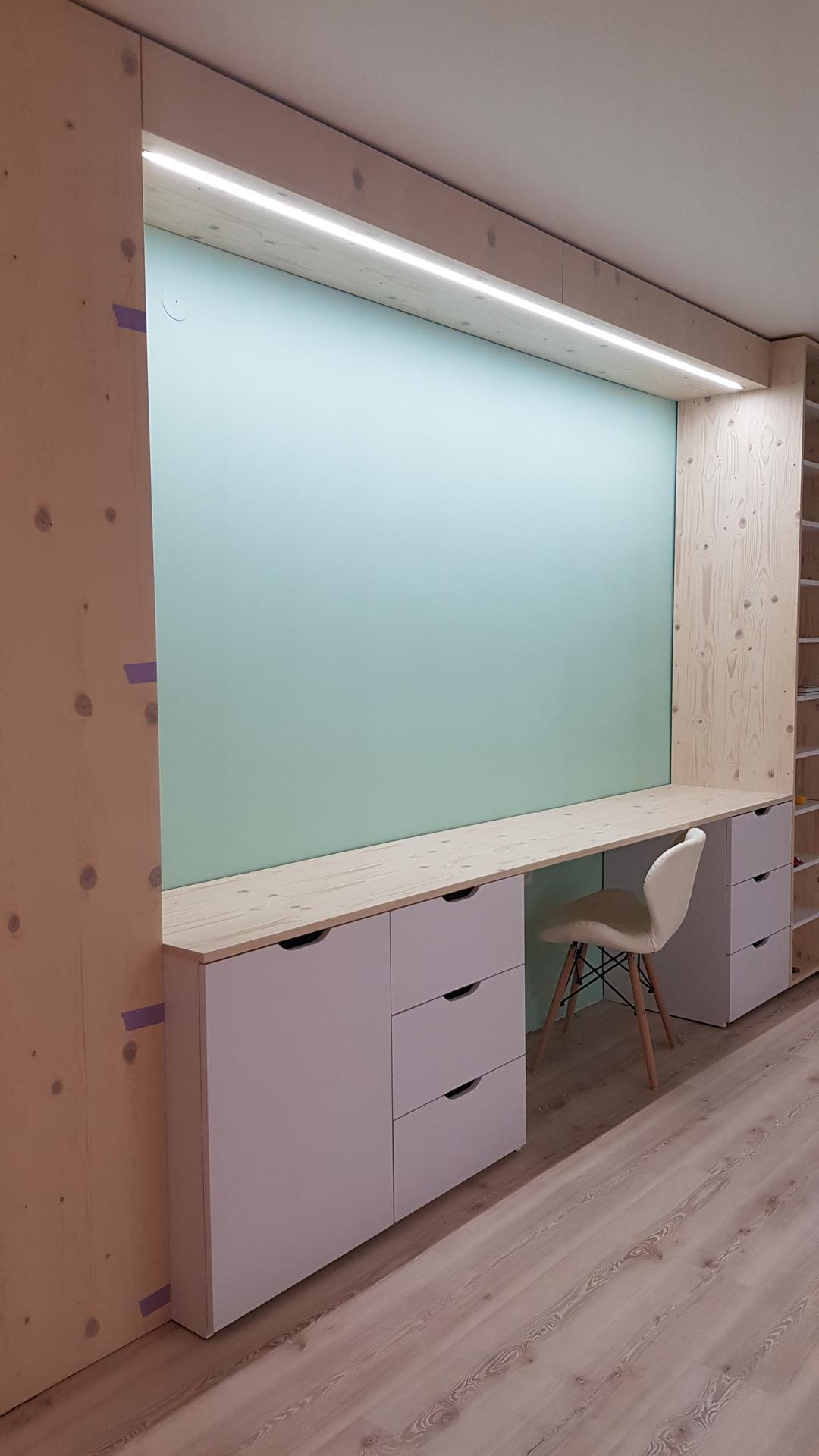 Naša rekonštrukcia - ... nateraz finito, ešte prídu poličky na stenu a ostatné serepetičky :)