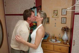 ženich našel nevěstu