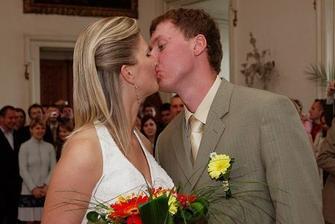 svatební pusina