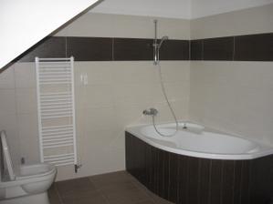horná kúpeľňa - realita