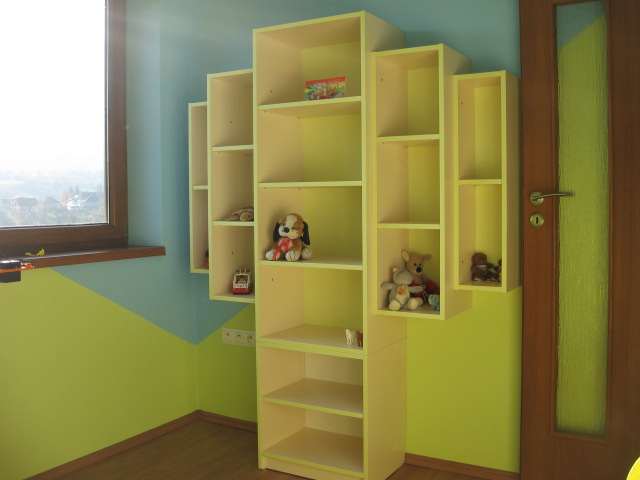 """Matúškova herňa + detska spálňa - navrhy od """"Fra"""" - nakoniec sa mi podarilo stiahnut lepsie fotky z fotaka."""
