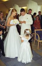 prstýnek pro nevěstu....