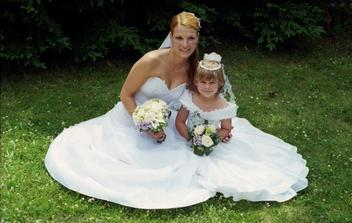 jako dvě princezny :)