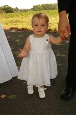 malá princeznička, roční Zuzanka od sestřenice