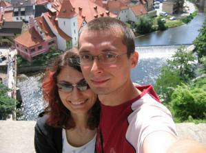 První společná manželská dovolená - jižní Čechy, srpen 2007