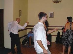 bratr nevěsty a jeho tanec :-)