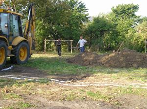 zacina sa kopat