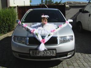 Moje autíčko...