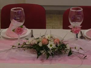 Naše svatební skleničky...