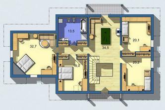 245 poschodie