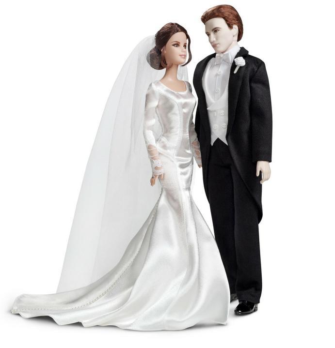 Bella & Edward - postavicka na tortu