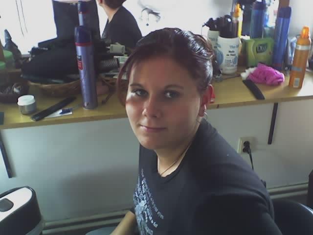 16.9.2006 - zkouška účesu mé krásné družičky