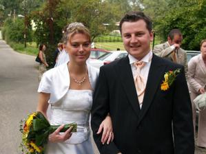 novomanželé Zámarští:-)