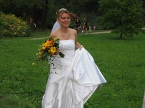 to nevěsta brzy utíká:-)