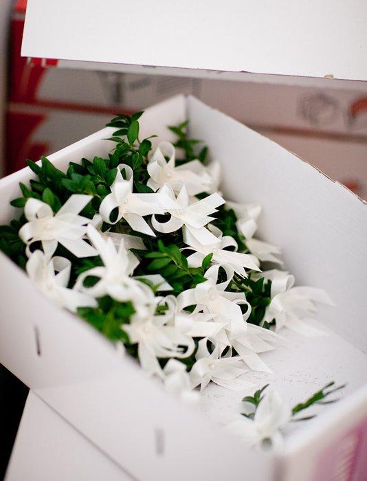 Gabriela Turanská - aranžmány - svadobné pierka