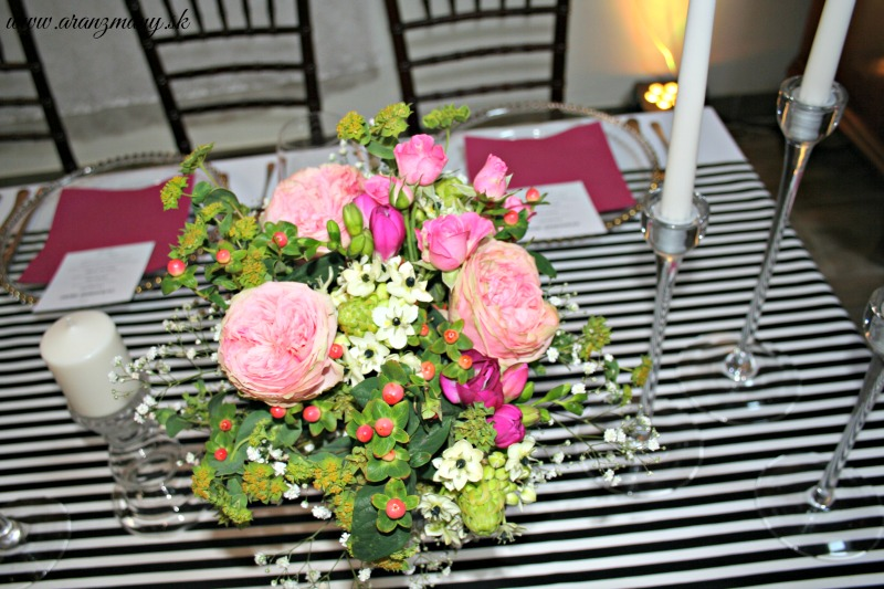 Gabriela Turanská - aranžmány - anglické ruže