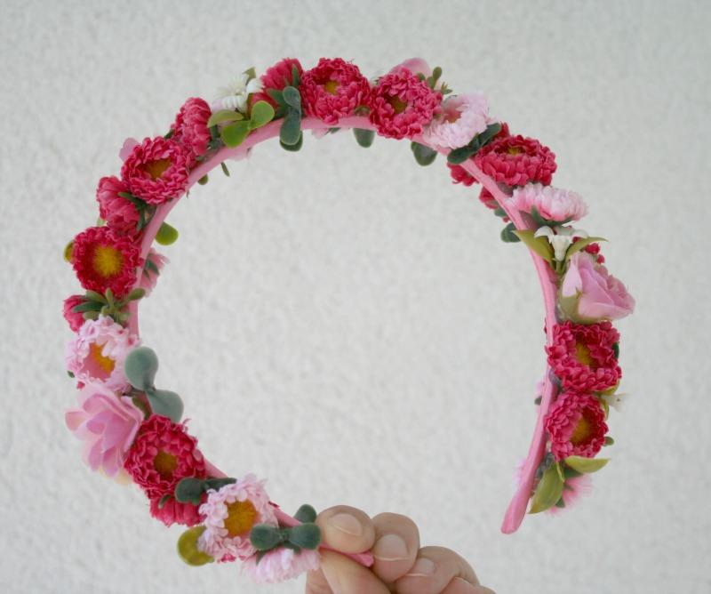 Kvetinové čelenky - Obrázok č. 2